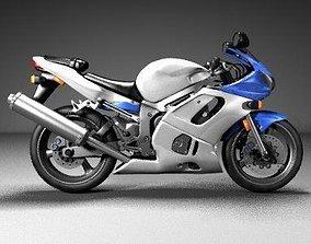 Motorcycle Yamaha 3D