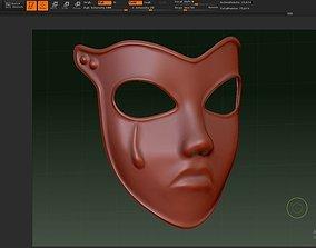 Sad mask Princess Never 3D printable model