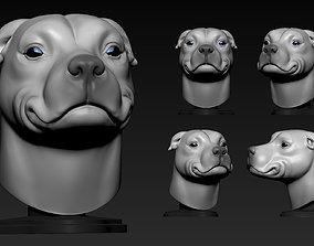 3D print model Pitbull Cute