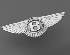 bentley key 3D printable model
