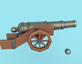 Cannon 3D model realtime