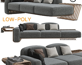 sofa La Sofa by Atelier DAmis 3D asset