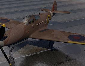 3D model Bell Airacobra Mk-1