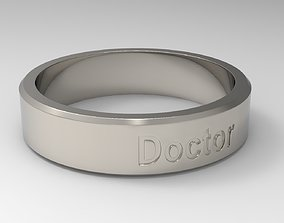 Doctor Ring Platinum 3D print model