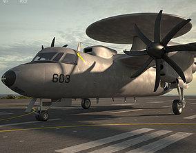 Northrop Grumman E-2 Hawkeye 3D