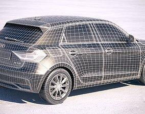 Audi A1 2019 3D