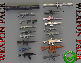 3D print model Weapon Pack abstract