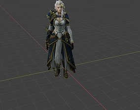 3D printable model Jina Boss alliance World of warcraft
