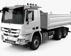 Truck Mercedes-Benz Actros Tipper 3-axle 2011 3D