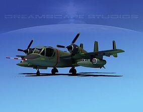 Grumman OV-1D Mohawk V12 3D