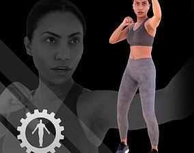 Female Scan - Calypso 118 3D model