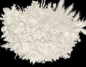 Beautiful relief 3D printable model