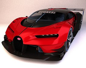 Bugatti Vision Gran Turismo 3D model turismo