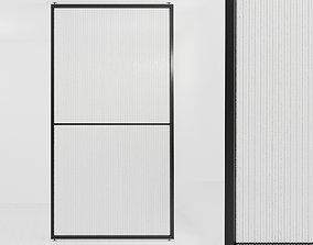 3D asset Glass partition door 49