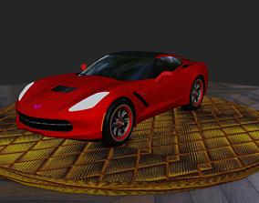 3D luxury car cabriolet