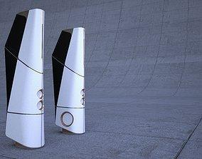 speaker redesign maxwell render 3D