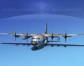 Lockheed C-130 Hercules Royal Air Force 3D