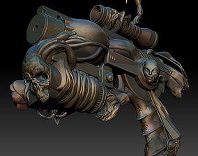 Revolver Psychopompe 3D printable model