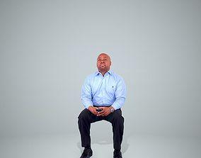 3D Sitting Business Man BMan0201-HD2-O03P04-S
