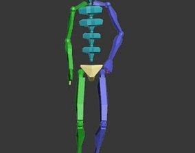3D model Panenka 3-4
