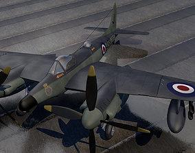 DeHavilland SeaHornet NF-21 3D model