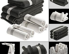 TOWELS fabric 3D
