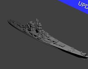 US Alaska Class Cruiser 3D printable model
