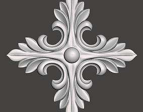 WoodCarving detail - 3d model for CNC - WCCFC0J