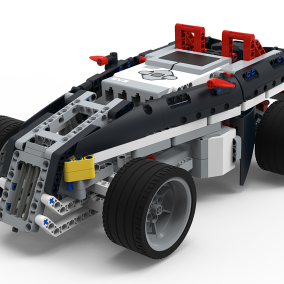 LEGO EV3 Hot rod