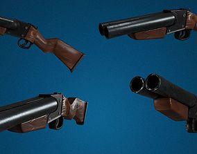 Sawn-Off Weapon 3D VR / AR ready