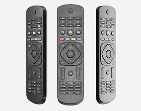 3D model Dirty TV Remote Control