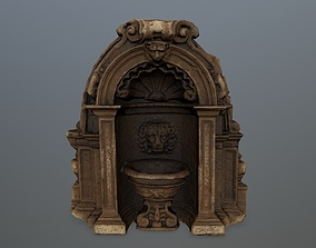 3D asset realtime Fountain