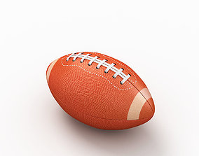 American Football 3D model catch