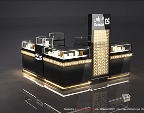 Perfume Stand 3D