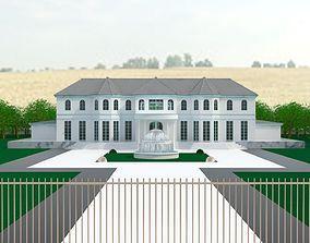 Statley Mansion 3D model