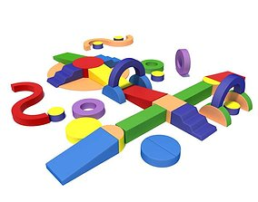 Childrens Building Blocks 3D