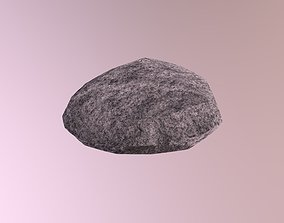 Rock lowpoly 3D asset VR / AR ready