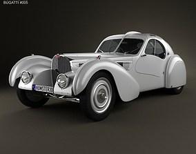 Bugatti Type 57SC Atlantic 1936 3D