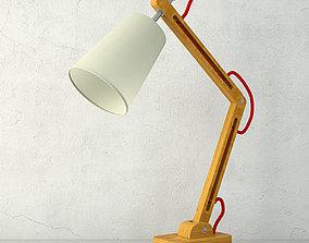 Silva Table Lamp by ZARA HOME 3D model