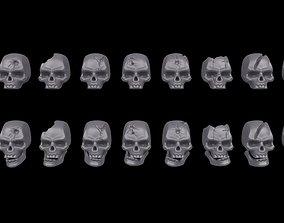 citadel Warhammer 40K - Skull Set 3D printable model
