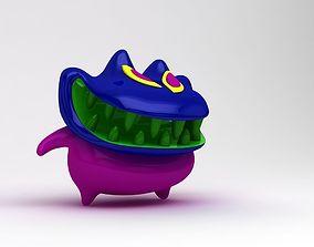 3D Monster Goblin Character