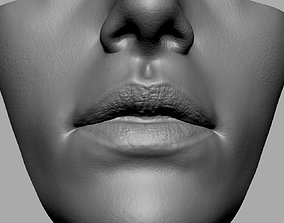 3D printable model Female Lip