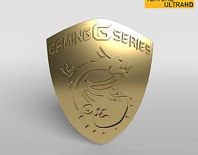 MSI Logo 02 - 8K Texture 3D