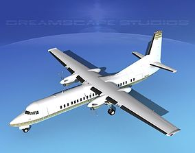 Fokker F-60 Corporate 2 3D