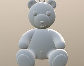 Teddy Bear Charm 3D printable model