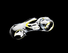 The motorcycle 3D model