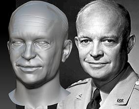 eisenhower Dwight Eisenhower 3d model 3d print bust