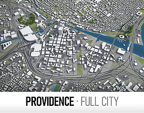 Providence - city and surroundings 3D model
