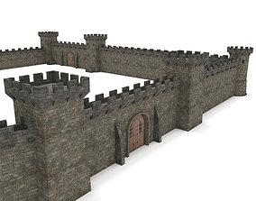 Castle - Modular pack 3D asset