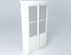 Showcase white 3D